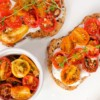 David Lebovitz cherry tomato crostini from My Paris Kitchen on eatlivetravelwrite.com