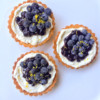 Dorie Greenspan blueberry cheesecake tartsfrom Baking Chez Moi on eatlivetravelwrite.com