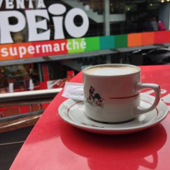 Coffee en route on the Camino on eatlivetravelwrite.com