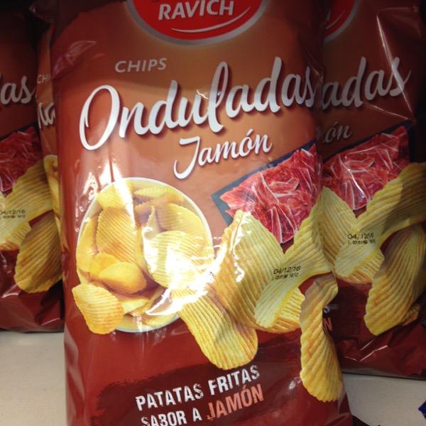 Jamon chips on eatlivetravelwrite.com