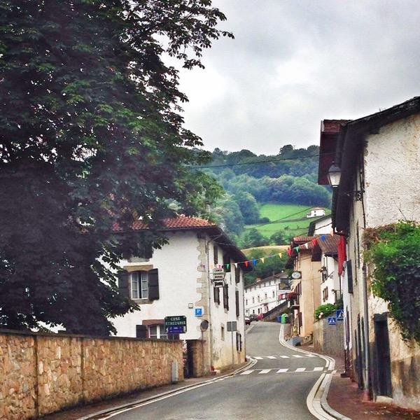Arriving in Valcarlos on eatlivetravelwrite.com