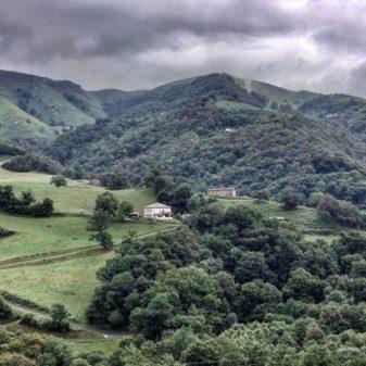 Views in Valcarlos on eatlivetravelwrite.com