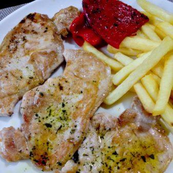 Pilgrim meal in Valcarlos on eatlivetravelwrite.com
