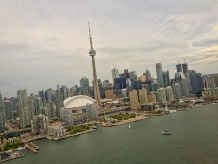 Toronto from the air with Toronto Heli Tours on eatlivetravelwrite.com