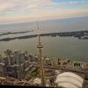 CN Tower and Rogers Centre and views of Toronto from the air with Toronto Heli Tours on eatlivetravelwrite.com