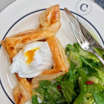 Croissant Tart at Colette on eatlivetravelwrite.com