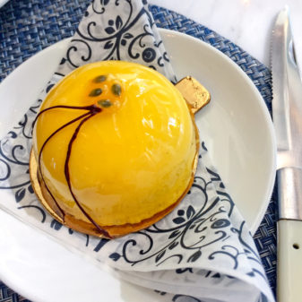 Passionfruit pastry at Colette on eatlivetravelwrite.com