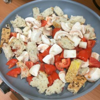 Ingredients for Jamie Oliver English breakfast frittata on eatlivetravelwrite.com