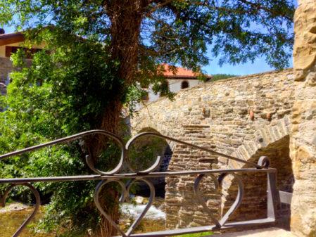 View from Zubiaren Etxea on Camino de Santiago on eatlivetravelwrite.com