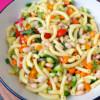 MInestrone-style pasta salad by Mardi MIchels eatlivetravelwrite.com