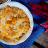 Mac and cheese with roasted butternut squash on eatlivetravelwrite.com