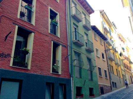 Arriving in Pamplona on the Camino de Santiago on eatlivetravelwrite.com