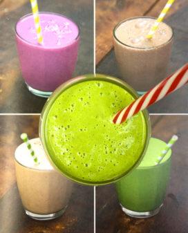 Jamie Oliver super green smoothie on eatlivetravelwrite.com