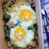 David Lebovitz Baked Eggs with Kale My Paris Kitchen on eatlivetravelwrite.com