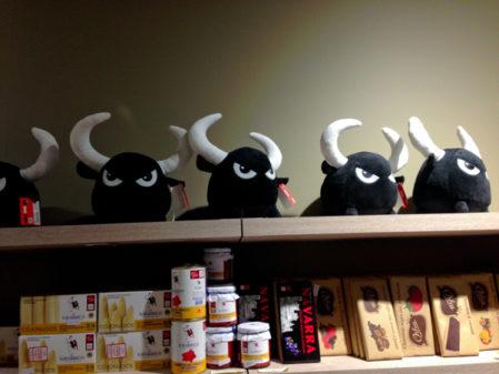 Souvenirs in Pamplona on the Camino de Santiago on eatlivetravelwrite.com