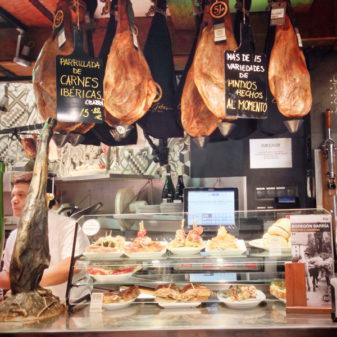 Bodegon Sarria tapas selection on the Camino de Santiago on eatlivetravelwrite.com