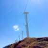 Wind turbines at Alto de Perdon walking the Camino de Santiago on eatlivetravelwrite.com