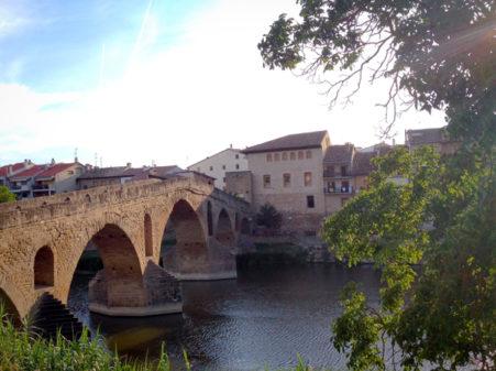Puente la Reina walking the Camino de Santiago on eatlivetravelwrite.com