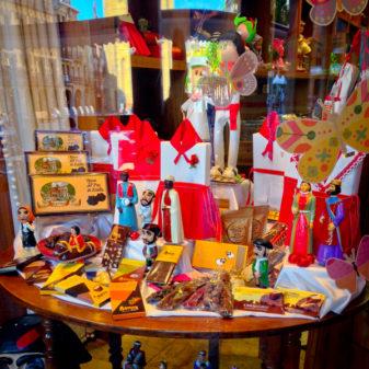Candy store in Estella walking the Camino de Santiago on eatlivetravelwrite.com