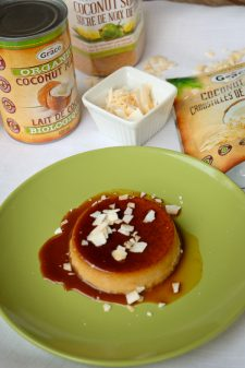 Grace Coconut products and dairy free creme caramel on eatlivetravelwrite.com