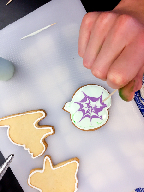 Kids decorating cookies on eatlivetravelwrite.com