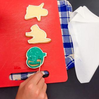 Kids decorating sugar cookies on eatlivetravelwrite.com
