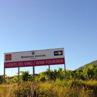 Bodegas Irache wine fountain with Camino Travel Center on eatlivetravelwrite.com