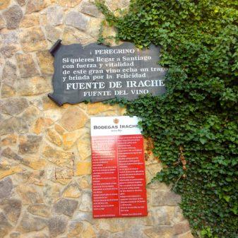 Fuente de Irache with Camino Travel Center on eatlivetravelwrite.com