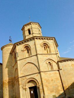Iglesia de Santo Sepulcro in Torres del Rio on Camino de Santiago with Camino Travel Centre on eatlivetravelwrite.com