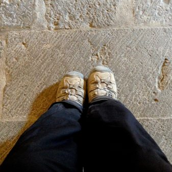 Dusty boots walking the Camino with Caminon Travel Center on eatlivetravelwrite.com