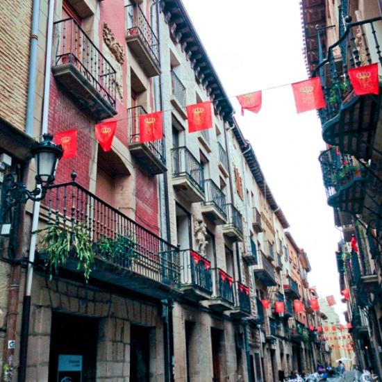 Streets of Viana walking the Camino with Caminon Travel Center on eatlivetravelwrite.com