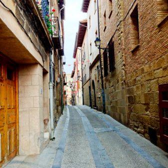 Siesta streets in Viana walking the Camino with Caminon Travel Center on eatlivetravelwrite.com