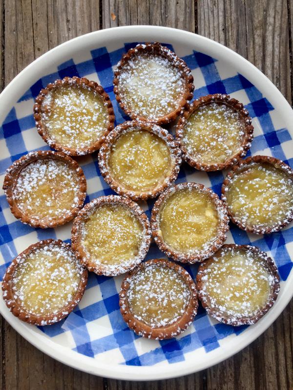 Dorie Greenspan mini caramel tarts on eatlivetravelwrite.com