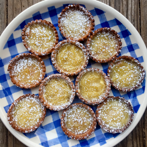 Dorie Greenspan mini caramel tarts for tuesdays with Dorie on eatlivetravelwrite.com