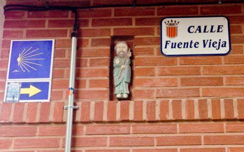 Leaving Viana on the Camino de Santiago with Camino Travel Center on eatlivetravelwrite.com