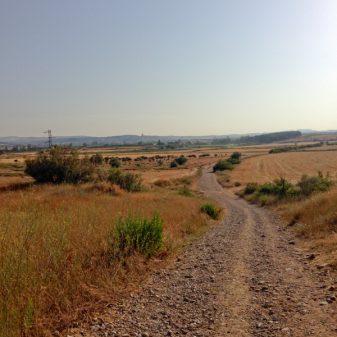 The road to Logrono on the Camino de Santiago with Camino Travel Center on eatlivetravelwrite.com