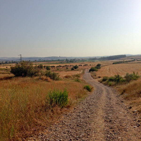The road to Logrono on the Camino de Santiago with Camino Travel Center on eatlivetravelwrite.com