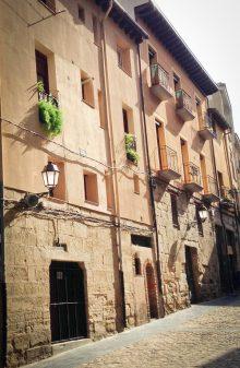 Streets of Logrono on the Camino de Santiago with Camino Travel Center on eatlivetravelwrite.com