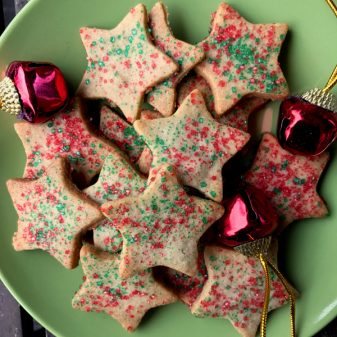 Dorie Greenspan's Christmas spice cookies from Dorie's Cookies on eatlivetravelwrite.com