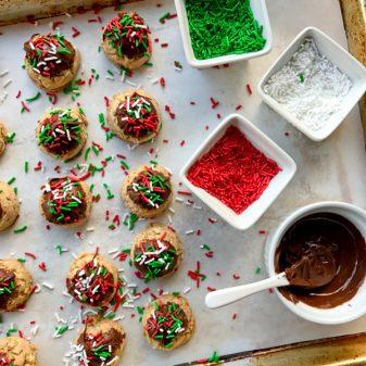 Dories Cookies Dorie Greenspan Pfefferneusse on eatlivetravelwrite.com