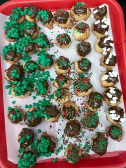 Kids bake Mark Bittman coconut macaroons on eatlivetravelwrite.com