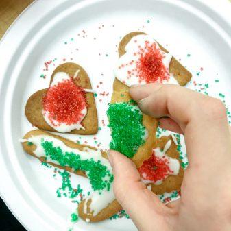 Jamie Oliver gingerbread decorated by kids on eatlivetravelwrite.com