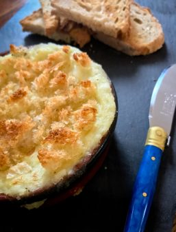 David Lebovitz salt cod and potato puree for Cook the Book Fridays from My Paris Kitchen on eatlivetravelwrite.com