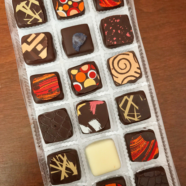 Chocolates from lAtrappe Reves Souvenirs from France on eatlivetravelwrite.com