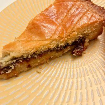 Slice of Edd Kimber gateau breton on eatlivetravelwrite.com