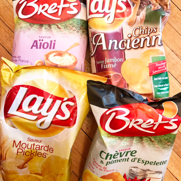 French chips Souvenirs from France on eatlivetravelwrite.com