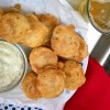 Salt cod fritters from My Paris Kitchen on eatlivetravelwrite.com