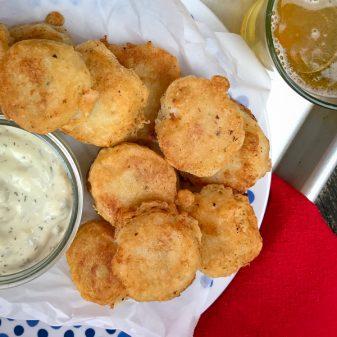 Salt cod fritters from My Paris Kitchen on eatlivetravelwrite.com