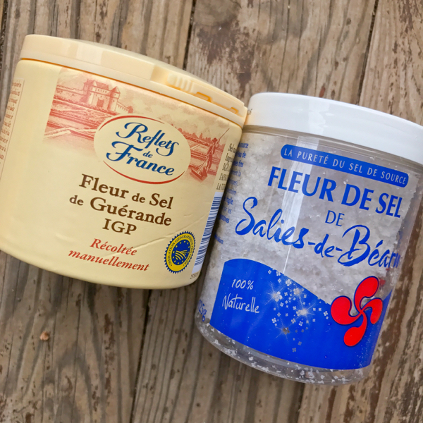 Fleur de sel Souvenirs from France on eatlivetravelwrite.com