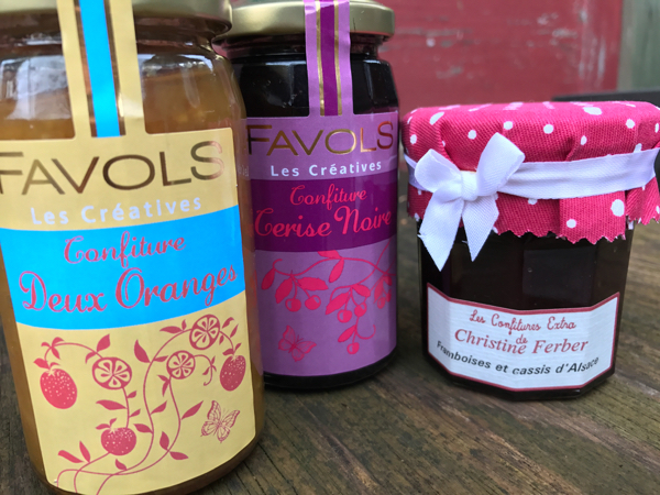 French jams Souvenirs from France on eatlivetravelwrite.com